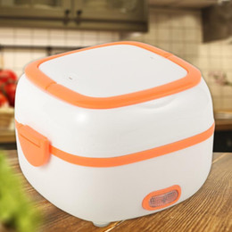 ALLOET Electric Heating Warmer Container Rice Cookers Heater Portable Lunch Box for Household Kitchen Winter heating box on Sale