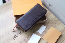 Discount black white stripes short dress 60742 2021 brown flower Mens Wallets Fashion Men purse Special Canvas Multiple Short Small Bifold women Wallet With Box qweru