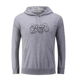 Wholesale hip hop tattoos online – oversize Karma Tattoo Design Punk Style Hoodie Women Men Hip Hop Jackets Pullover Sweatshirt for Girl Lady Spring Autumn Fashion Tops