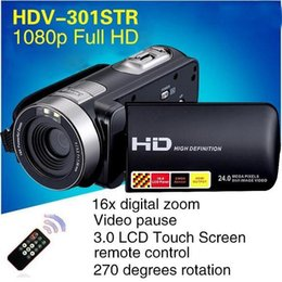 Night Vision Video Recorder Camcorder Full HD1080P Video Camera Professional 270D Rotation 24MP 3.0'' HD Digital Camera on Sale