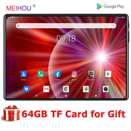 Global Version 10 inch Tablet Quad Core PC 2+32GB ROM Tempered 2.5D IPS HD Screen WIFI GPS Netfilx Google Paly 10.1Tablet1 on Sale