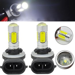 h27w led bulb Australia - 2pcs White 7 .5w 881 Cob Led Fog Light Dc 12v H27w  2 886 889 894 896 898 Car Auto Daytime Running Lamp Drl Bulb