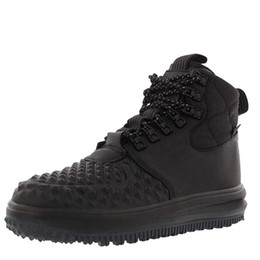 Wholesale Men Lunar Forces 1 Hiking Shoes Duckboot Women High Classics Lace Up Sports Trainers Triple Black Outdoor Jogging Sneakers