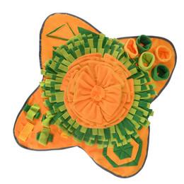 Venta al por mayor de PET SNUFFE Alimentación Mat Dog Puzzle Toy Interactive Game Training Blanket fomenta las habilidades de forrajeo natural JK2012XB