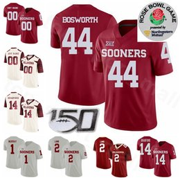 Brian Bosworth Oklahoma Sooners Jordan Football Jersey - Red