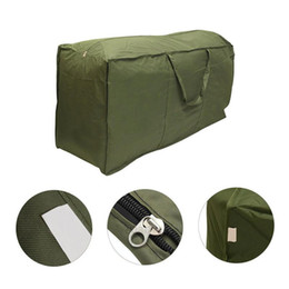 cushion storage bags Canada - Big Outdoor Furniture Cushion Storage Bag Multi-Function Waterproof Polyester Sundries Storage Bag Pack Sack