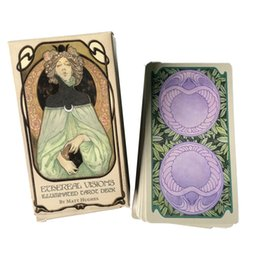 Wholesale visions boards for sale – custom 80 English Ethereal Visions Illuminated Tarot Cards Deck Board Table Games For Party Playing Card Entertainment Game bbyzQT yhshop2010