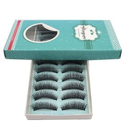 false eyelashes 12mm Australia - 100 Pairs Women Girls Cosmetic False Eyelashes Long Handmade Eyelash Extension Tool Fake Lashes Winged Eyelashes Cilios Posticos
