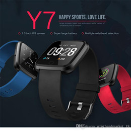 pk fitbit 2021 - Y7 Smart Bracelet Blood Pressure Oxygen Sport Fitness Tracker Watch Heart Rate Monitor Wristband Pk Fitbit Versa Mi band