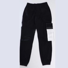 Wholesale pants cargo for sale - Group buy 20ss Badge Compass Pant for Men Track Pants Designer Jogger Cargo Pant Spring Slacks Tight legged Trouser Thin Streetwear