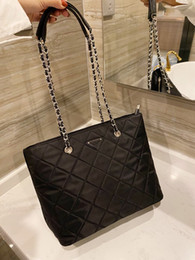 Wholesale chains factory cell phones resale online - 2020 high quality ladies shopping bag designer shoulder strap shopping bag ladies casual hand shopping bag factory sale
