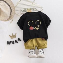Cartoon Toddler Boy Clothes Summer Set T Shirt Short Children Clothing Short Sleeve Shirt Boys Suit Baby Tracksuit XuSn#