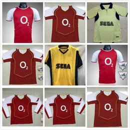 Wholesale games club for sale - Group buy 05 Retro version HENRY Soccer jersey For Adult Short Sleeve Collection Football League Club Customized Game Uniforms On sale