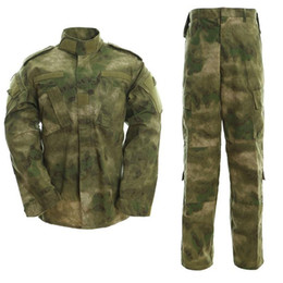 men s tactical jackets Canada - Outdoor Uniform Men Camouflage Tactical Clothing Combat Army Special Forces Jacket Pants for Hunting Soldier Training