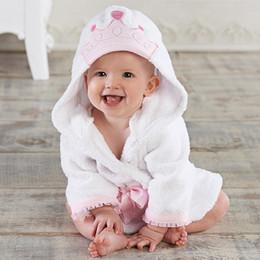 Опт 2020 Новые милые животные младенческие малыши дети девочка девочка мальчик с капюшоном баня полотенце обертка халат купание одеяло броски