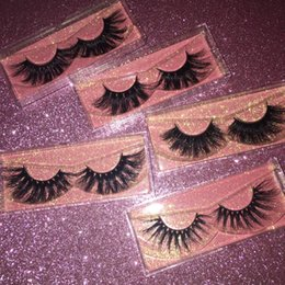 3D Mink Eyelashes Mixed Styles 25mm Full Strip Lashes with Free Packaging Box Long Eye Lash FDshine