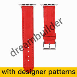 V   Watchband iWatch Band 42mm 38mm 40mm 44mm iwatch 2 3 4 5 bands Leather Strap Bracelet drop shipping on Sale