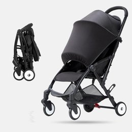 portable umbrella strollers UK - Baby stroller can sit and lie super light portable folding simple baby umbrella car on the plane child stroller1
