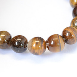 Wholesale CHEAP 144pcs lot 8mm Natural Stone Beads Yellow Tiger Eye Round Loose Beads For DIY Jewelry Making