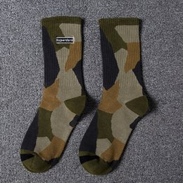 Wholesale super man socks for sale – custom CKNwS Super dark camouflage sports socks in for men autumn and men Super dark embroidery embroiderycamouflage embroidery sports socks for win