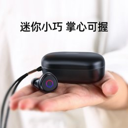 Wholesale cell phones plans for sale - Group buy Machine music hall JR TL1 bilateral TWS Bluetooth headset In ear Jerry plan waterproof headphones mobile phone universal