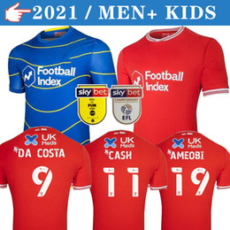 20 21 Nottingham Forest Soccer Jerseys LOLLEY GRABBAN 2020 2021 WATSON CASH Football Shirt SILVA AMEOBI men+kids kit Thailand Jersey