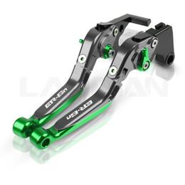 For ER6N Motorcycle Adjustable Folding Brake Clutch Lever ER6F ER6N NINJA 650R 2006 2007 2008 ER 6F ER 6N Accessories on Sale
