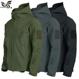 Wholesale military windbreaker jackets for sale – winter New Lurker Shark Skin Soft Shell V5 Military Tactical Jacket Men Waterproof Windproof Soft Shell Windbreaker Army Coats X0923 X0923