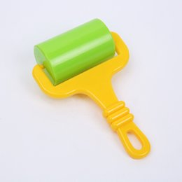 kids roller toy Australia - Plastic Multi Color Kid Toys Boy Girl DIY Plasticene Clay Arts Tool Handle Slingshot Roller Child Party Accessories New Arrival 1 6hsa G2