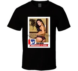 Wholesale baseballs cards for sale – custom Asa Akira Greatest of all Time Baseball Card Sexy Funny T shirt