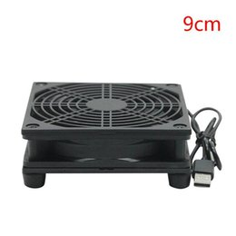 cool cooler parts Australia - 9cm 12cm Cooling Fan DC 5V USB Power Supply Quiet Fan for Router TV Set-Top Box Radiator Cooler DIY Repair Parts