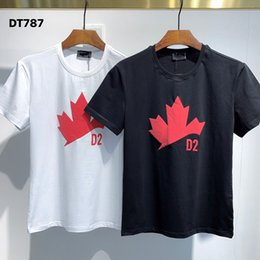 Wholesale italian mens casual clothing resale online – Italian brand T shirt Mens Clothing Brand Tops Tee Shirt Fashion Summer Tide Braned Letters Printed Casual Men Shirt M XL
