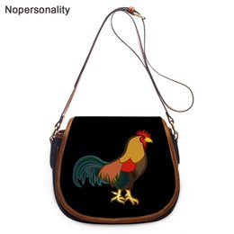 Wholesale chicken farms online – design Farm Nopersonality Funny Chicken Printing Shoulder for Lady Female Small Saddle Messenger Women Stylish Crossbody Bag