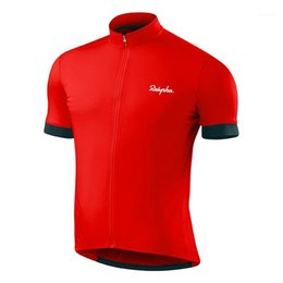 Raphaful Summer Short Sleeve MTB Bike Cycling Jersey Cycling Clothing Ropa Racing Bicycle Clothes Gobikeful1 on Sale