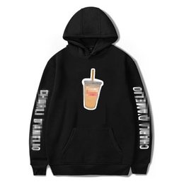 costume hoodies Australia - New Lce Coffee Splatter Streetwear Sweatshirts Men Women Hoodies Charli Damelio Pullover Unisex Costume Tracksuit Casual Top Y0111