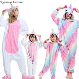 Wholesale cosplay pyjama panda online – ideas Boys Girls Pajamas Sets Kigurumi Unicorn Pajamas For Women Men Onesie Adults Animal Panda Stitch Sleepwear Cosplay Pyjamas Kids C1019