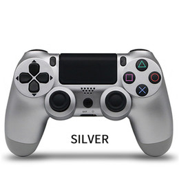 Wireless Bluetooth Gamepad Joystick Controllers Gamepads Game console accessory handle no logo For PS4 PC controller 18 colors on Sale