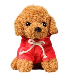 wholesale kid rag dolls Australia - Lovely Puppy Dog Plush Toys Teddy Dog Rag Doll Cute Trumpet Simulation Animal Doll Plush Stuffed Toys Peluche Baby Toys Kid Gift jllMxC