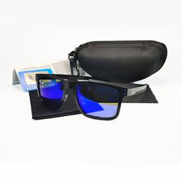Mode Gepolariseerde Zonnebril Model 4123 Mannen Vrouwen Merk Eyewear Metal Square Frame Outdoor Sport Duiken Vissen Glazen UV400 Lens More Kleur Met Case