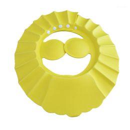 Wholesale Hot Sale Soft Adjustable Baby Shampoo Bath Shower Cap Shampooing For Kids To Baby Shower Hat Child Bathing Cap Bath Visor1