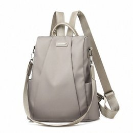 2020 Hot Womens Backpack Casual Nylon Solid Color School Bag Fashion Detachable Shoulder Strap Shoulder Bag pMId#