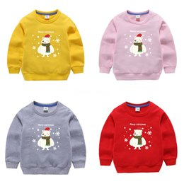 Wholesale christmas sweaters men resale online – 2020 Fashion Child Man Sweater Autumn Christmas Child Funny D Print Novelty Jupmers Holiday Sweaters Tops Unisex WoChild Clothes