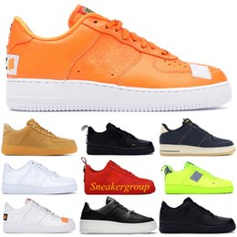 Wholesale Fast ship Best Quality Dunk utility running shoes men women 1 black white pink low high Skateboard shoes fashion sports sneakers