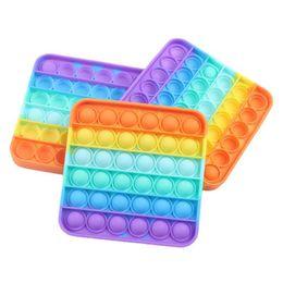 Nueva llegada Colorido descompresión juguetes sensorial push burbuja sensory juguete autismo ansiedad estrés alivio para estudiantes trabajadores de oficina en venta