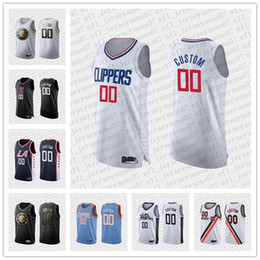 los basketball jersey NZ - Custom Men's womens youth los angeles