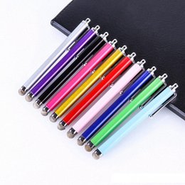 tablet pc screens Australia - Universal Metal Mesh Micro Fiber Tip Touch Screen Stylus Pen for iPhone for Samsung Smart Phone Tablet PC Stylus Pen