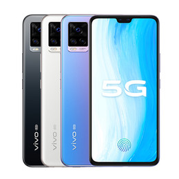 "Original Vivo S7 5G Mobile Phone 8GB RAM 128GB 256GB ROM Snapdragon 765G Octa Core 64.0MP AR NFC Android 6.44"" AMOLED Full Screen Fingerprint ID Face Wake Smart Cell Phone on Sale"