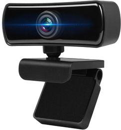 Webcam HD 1080P, webcam con transmisión de video de micrófono Pro Stream, rotación base de 360 grados, PC portátil de escritorio USB completo en venta