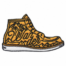Fashion Sneaker Embroidery Iron On Patches Mini Decoration For Clothing Bag Hat DIY Design Applique Free Shipping D6pm#