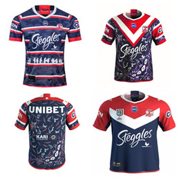 Discount rugby jerseys hero New 2020 2021 top Sydney Rooster Australian hero men's adult high quality Rugby League Jersey